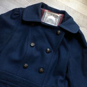 Size M, Guess Jeans Peacoat, navy blue, military